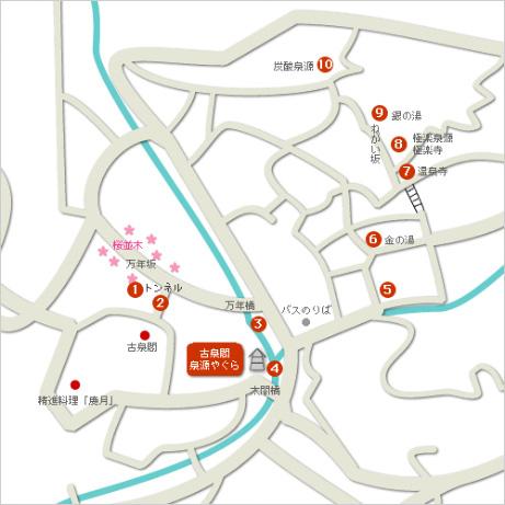 有馬周辺観光案内地図